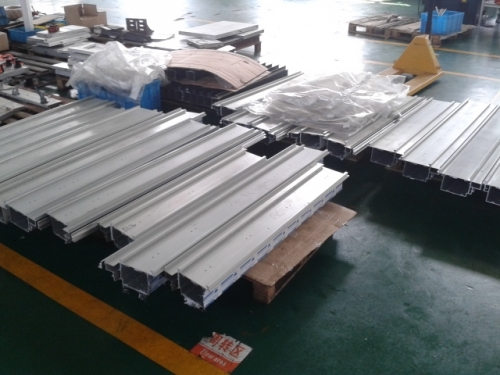 The machining service for aluminum structures Novartis new Shanghai plant诺华上海研发中心铝型材加工项目