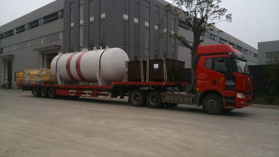 The supply of process equipments for Myanmar-China pipeline project中缅石油管道工程设备供应项目
